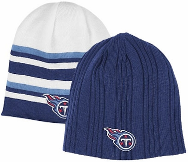 Tennessee Titans Reversible Cuffless Knit Hat