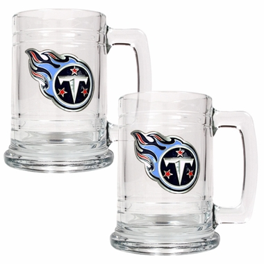 Tennessee Titans Set of 2 15 oz. Tankards