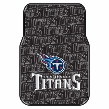 Tennessee Titans Set of Rubber Floor Mats