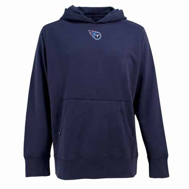 Tennessee Titans Mens Signature Hooded Sweatshirt (Color: Navy)
