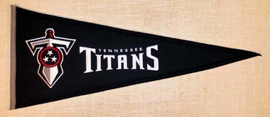 Tennessee Titans Throwback Wool Pennant