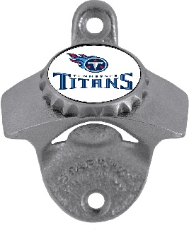 Tennessee Titans Wall Mount Bottle Opener (F)
