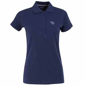 Tennessee Titans Womens Spark Polo (Color: Navy) - X-Large