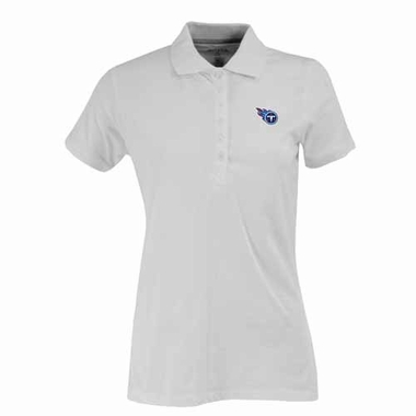 Tennessee Titans Womens Spark Polo (Color: White)
