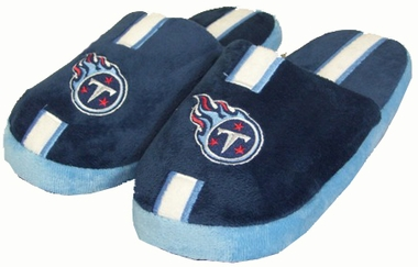 Tennessee Titans YOUTH Team Stripe Slide Slippers