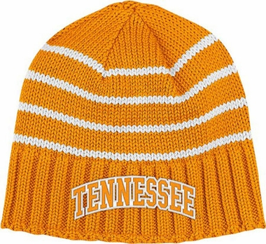 Tennessee Vault Striped Cuffless Knit Hat