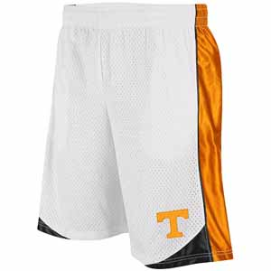 Tennessee Vector Performance Shorts (White) - Medium