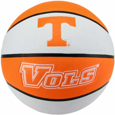 Tennessee Volunteers NCAA Baden Rubber Official Size Basketball