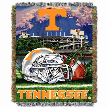 Tennessee Woven Tapestry Throw Blanket