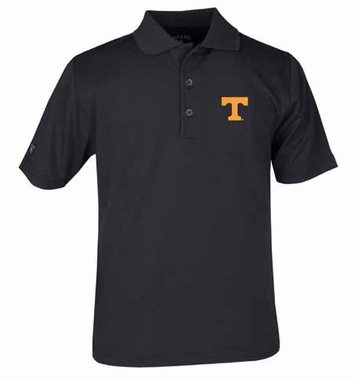 Tennessee YOUTH Unisex Pique Polo Shirt (Color: Black)