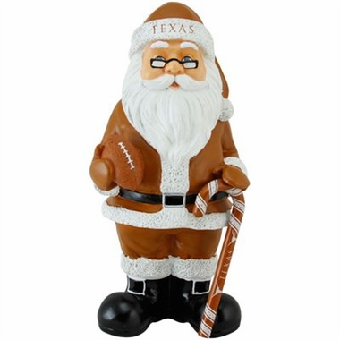 Texas 11 Inch Resin Team Santa Figurine