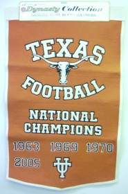 "Texas 24""x36"" Dynasty Wool Banner"