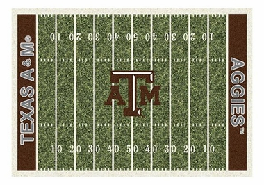 "Texas A&M 5'4"" x 7'8"" Premium Field Rug"