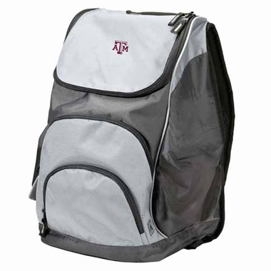 Texas A&M Action Backpack (Color: Grey)