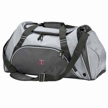 Texas A&M Action Duffle (Color: Grey)