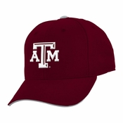 lowest price 92cfa 427bf Texas A M Aggies Youth Basic Structured Adjustable Hat