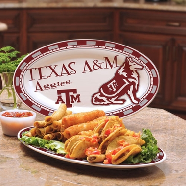 Texas A&M Ceramic Platter