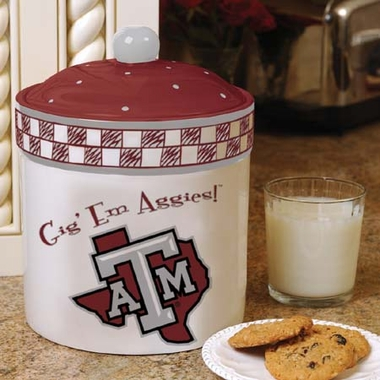 Texas A&M Gameday Ceramic Cookie Jar