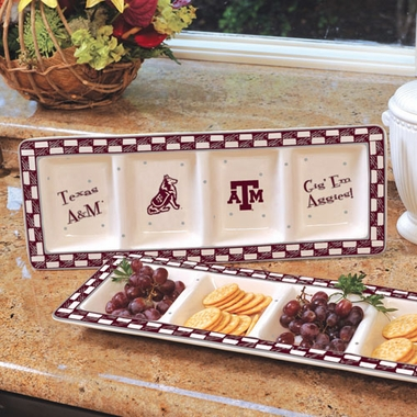 Texas A&M Gameday Relish Tray