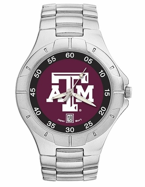 Texas A&M Pro II Men's Stainless Steel Watch
