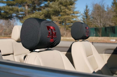 Texas A&M Set of 2 Headrest Covers (F)
