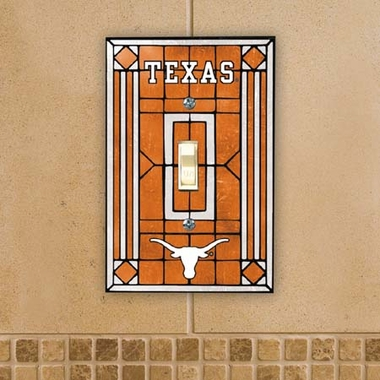Texas Art Glass Lightswitch Cover