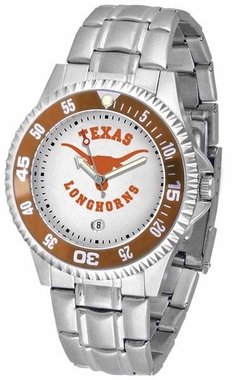 Texas Competitor Men's Steel Band Watch