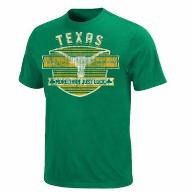 Texas Fields of Green Distressed T-Shirt