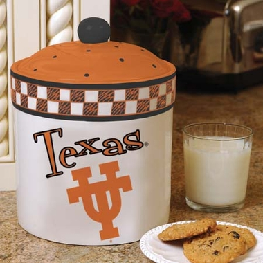 Texas Gameday Ceramic Cookie Jar