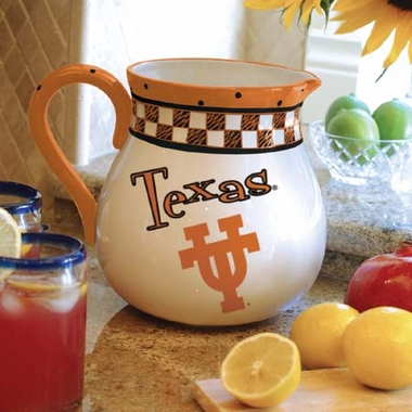 Texas Gameday Ceramic Pitcher