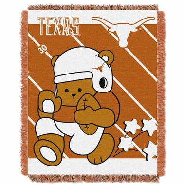 Texas Jacquard BABY Throw Blanket