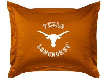 Texas Jersey Material Pillow Sham