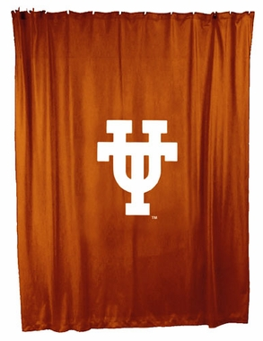 Texas Jersey Material Shower Curtain