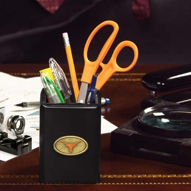 Texas Pencil Holder (Black)