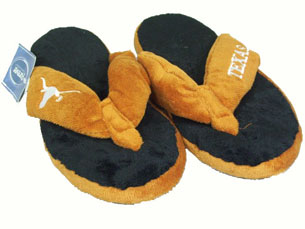Texas Plush Thong Slippers - Medium