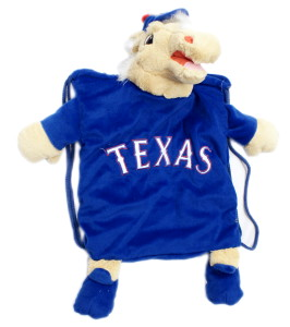 Texas Rangers Backpack Pal