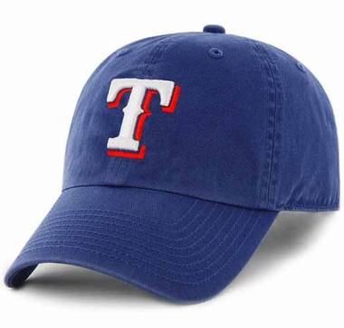 Texas Rangers Clean Up Adjustable Hat - Royal