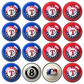 Texas Rangers Game Room