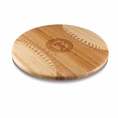 Texas Rangers Homerun Cutting Board