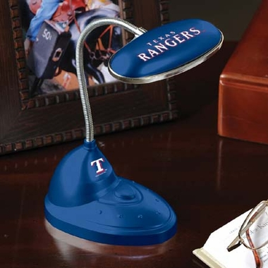 Texas Rangers Mini LED Desk Lamp