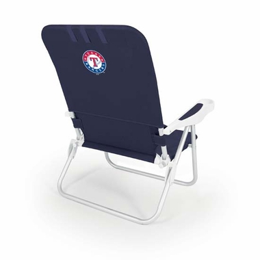 Texas Rangers Monaco Beach Chair (Navy)