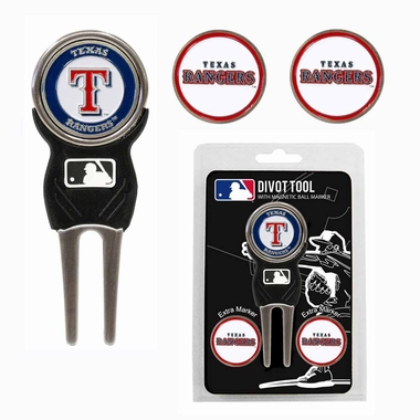 Texas Rangers Repair Tool and Ball Marker Gift Set