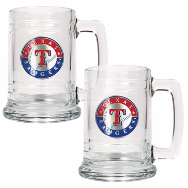 Texas Rangers Set of 2 15 oz. Tankards