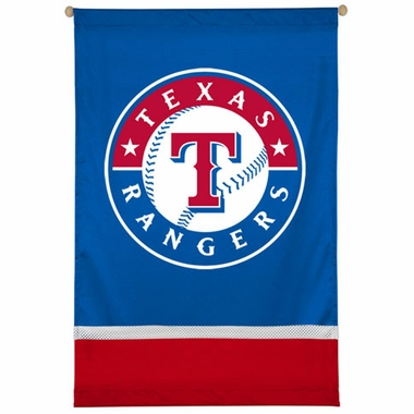 Texas Rangers SIDELINES Jersey Material Wallhanging
