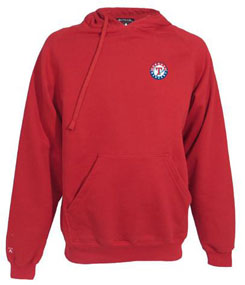 Texas Rangers Mens Signature Hooded Sweatshirt (Color: Navy) - XXX-Large