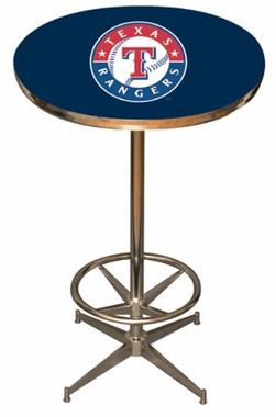 Texas Rangers Team Pub Table