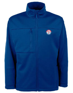 Texas Rangers Mens Traverse Jacket (Color: Blue) - Small