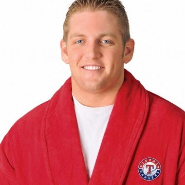 Texas Rangers UNISEX Bath Robe (Team Color)