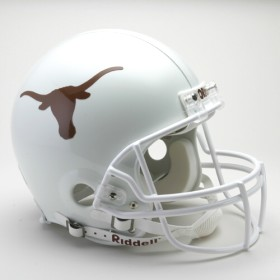 Texas Longhorns Riddell Full Size Authentic Helmet