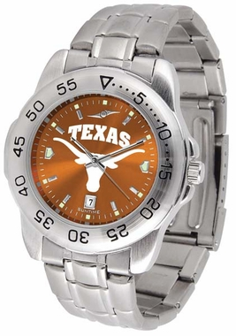 Texas Sport Anonized Men's Steel Band Watch
